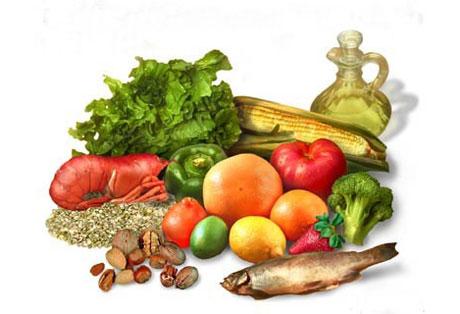 Montage - Alimentos Nutritivos