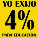 Yo Exijo el 4% para Educación en Republica Dominicana